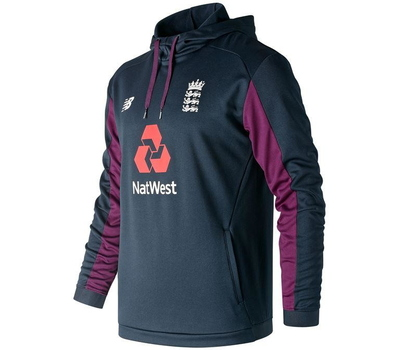 New Balance England Cricket Pullover Hoodie 2019